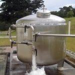 Filtro Industrial Condomínio Prédio Retrolavavel (Cliente Cerâmica Almeida)