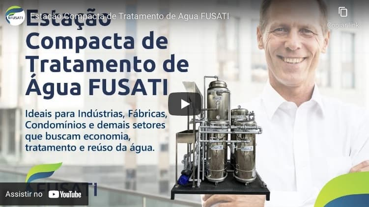Vídeo Sobre a Estação Compacta de Tratamento de Água FUSATI